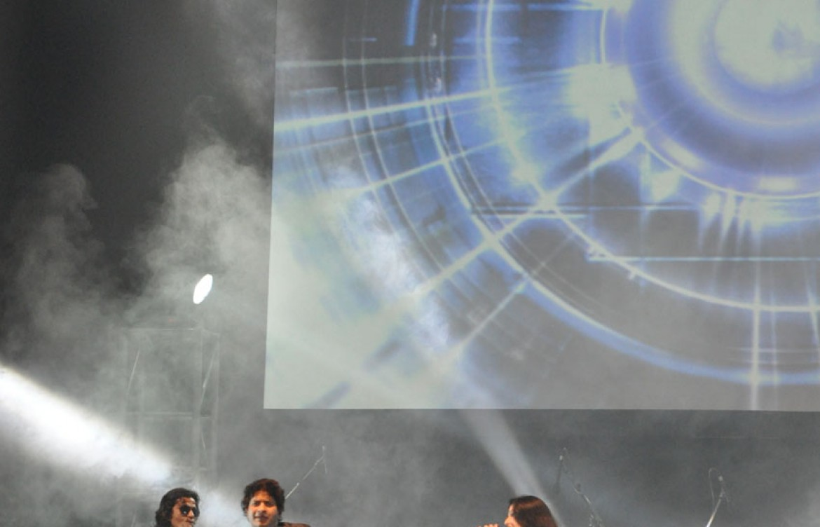 Sunidhi Chauhan and K.K