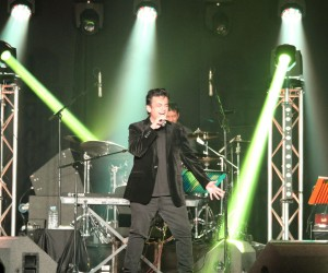 Adnan Sami performs at a Private Party