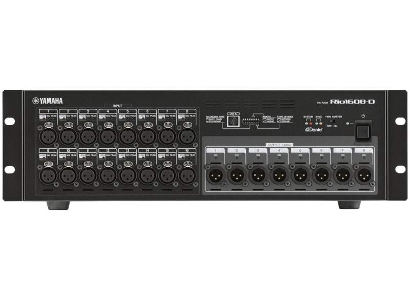 Yamaha rio1608 d stagebox pro system services for Yamaha m7cl dante